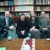 Consortium of Humanities Centers and Institutes Delegation Visited the Foundation