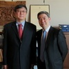 Vice-President Chun-i Chen Visited Dongfang Shao, Director of the Asian Division of the Library of Congress