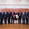 President Yun-han Chu Attended the Edward K Y Chen Distinguished Lecture Series at Hong Kong University