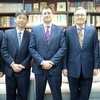 Professor Eric Wakin (Robert H. Malott Director of Library and Archives, Hoover Institution) Visited the Foundation