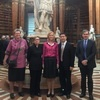 Vice-President Chun-i Chen Visited the University of Vienna and the Österreichische Nationalbibliothek