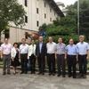 President Yun-han Chu Visited the Zhejiang Archives