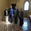 President Yun-han Chu Met with Rector Tomáš Zima and Dean Mirjam Fried at Charles University
