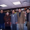 President Wenzhang Wang of the China Art Academe visited the Foundation