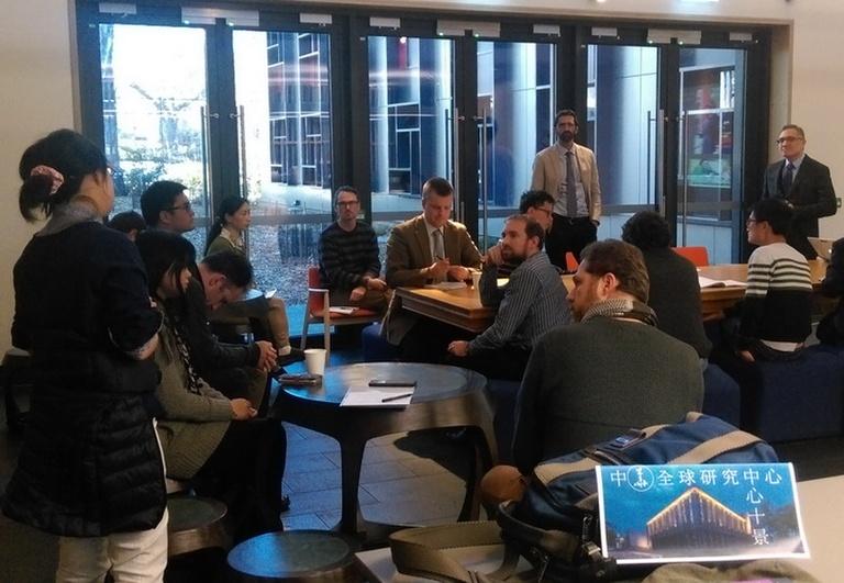 20161011朱執行長雲漢受邀赴澳洲國立大學亞太研究學院中華全球研究中心進行學術座談