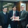 香港中文大學中國文化研究所李熾昌所長一行來訪