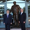 朱雲漢執行長參訪雷根總統圖書館
