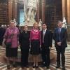 陳純一副執行長赴奧地利拜會維也納大學並赴國家圖書館參訪