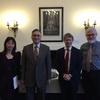朱雲漢執行長赴倫敦拜會英國皇家國際事務研究所