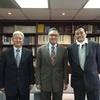駐台北烏蘭巴托貿易經濟代表處海隆代表(Representative Mr. Khaliun Panidjunai)與雅鋼巴塔副代表(Deputy Head Mr. Yadmaa. Ganbaatar)來訪