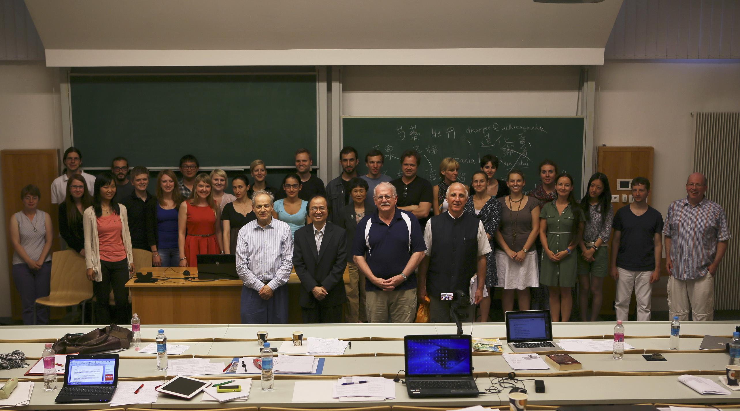 20130701匈牙利羅蘭大學暑期漢學研習營:「唐代與當時中國以外的世界」