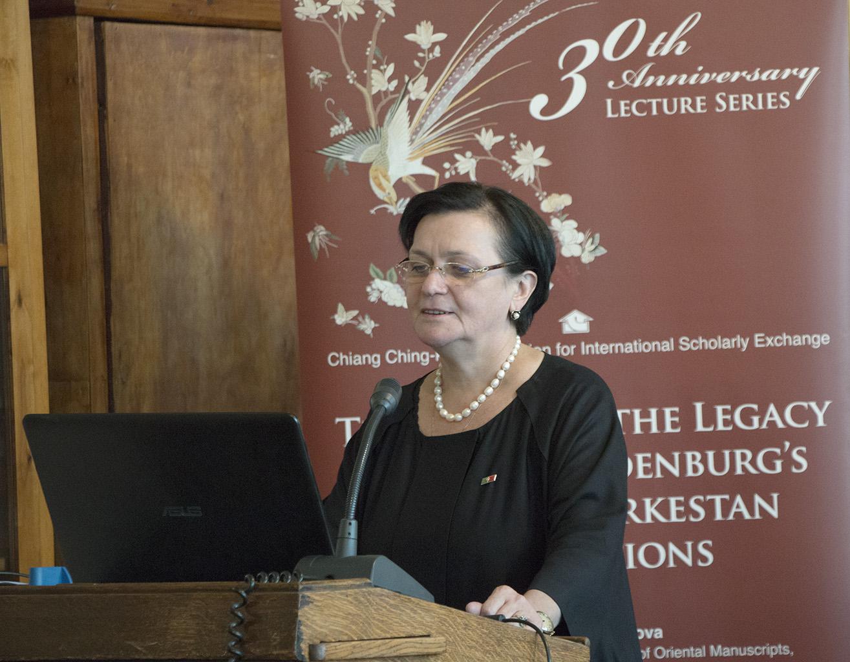 基金會成立三十周年系列講座:歐洲地區-波波娃教授