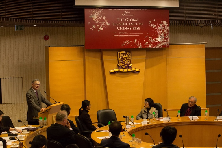 基金會成立三十周年系列講座:亞太地區-朱雲漢執行長