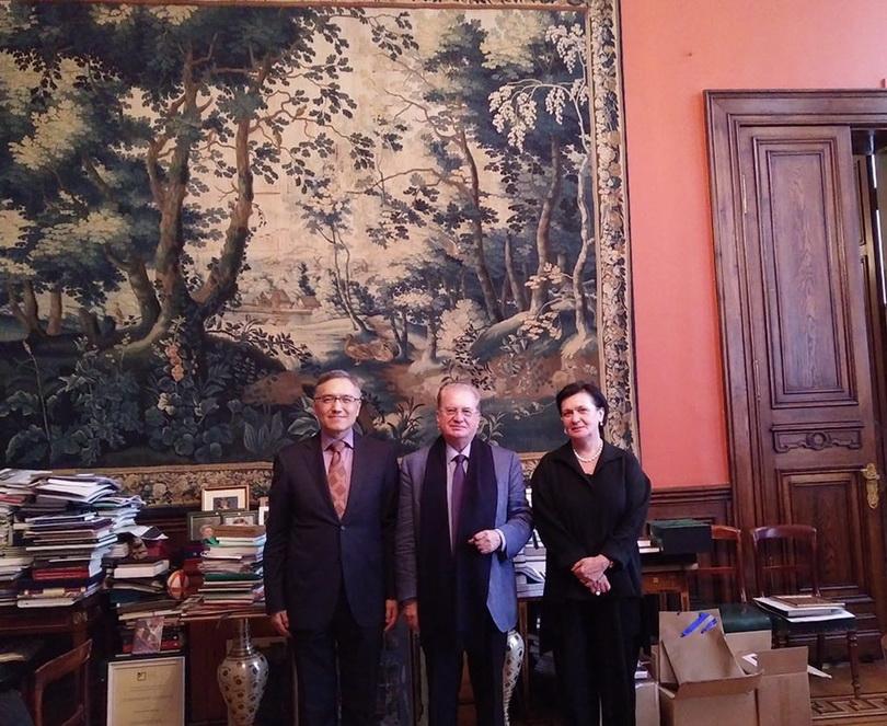 2016朱執行長雲漢拜訪俄羅斯科學院東方文獻研究所與冬宮博物館