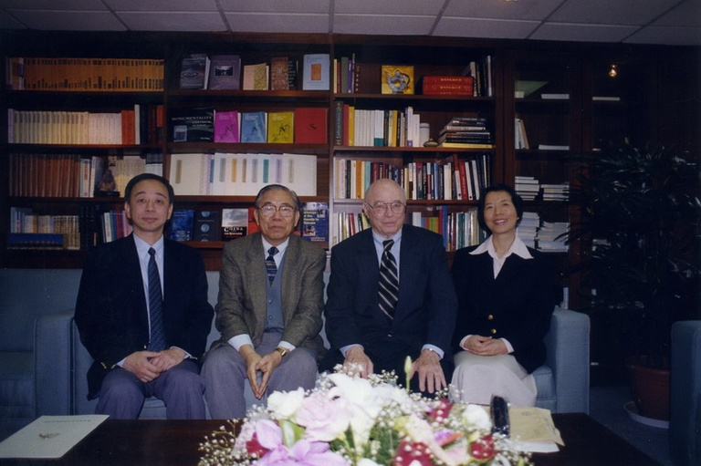 20010406美國哈佛大學John Rosenfield教授來訪