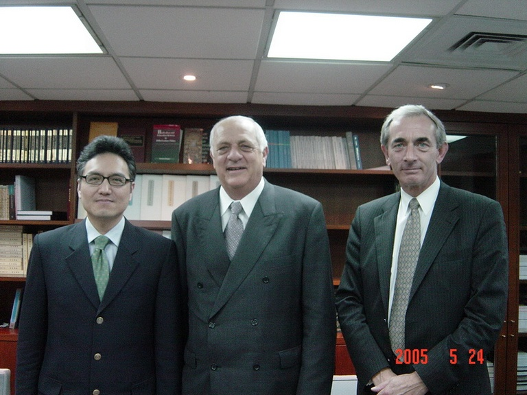 20050524紐西蘭亞洲基金會代表團來訪