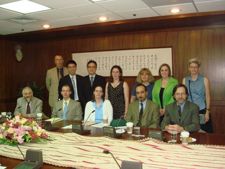 20070518美國里奇蒙大學代表團來訪