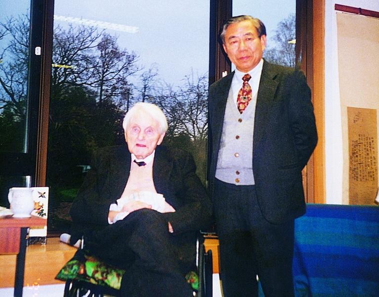 19941117李亦園執行長拜會李約瑟研究所