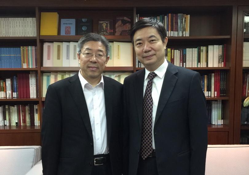 20161014中國社會科學院社會發展研究院張翼院長來訪