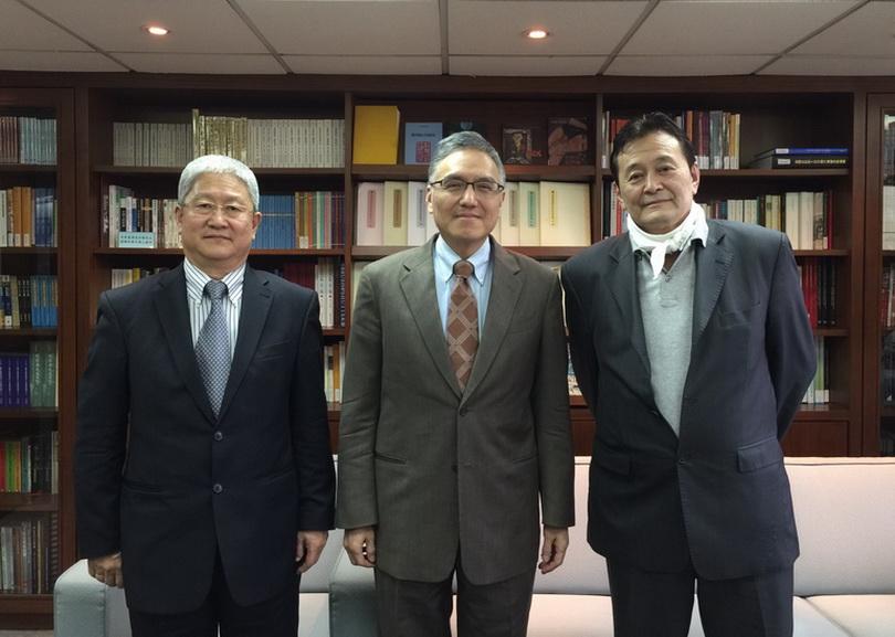 2017/02/16駐台北烏蘭巴托貿易經濟代表處海隆代表來訪