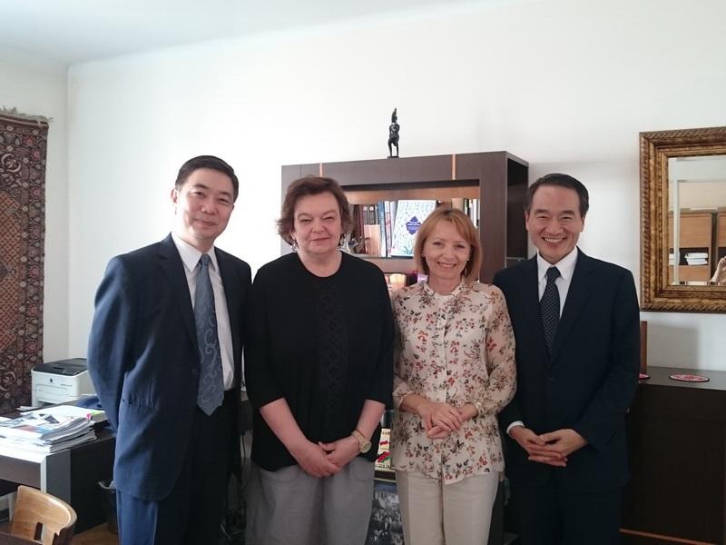 Dean Jolanta of Faculty of Oriental Studies