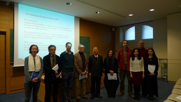 Georges Favraud 博士榮獲法國漢學博士論文獎評審特別獎